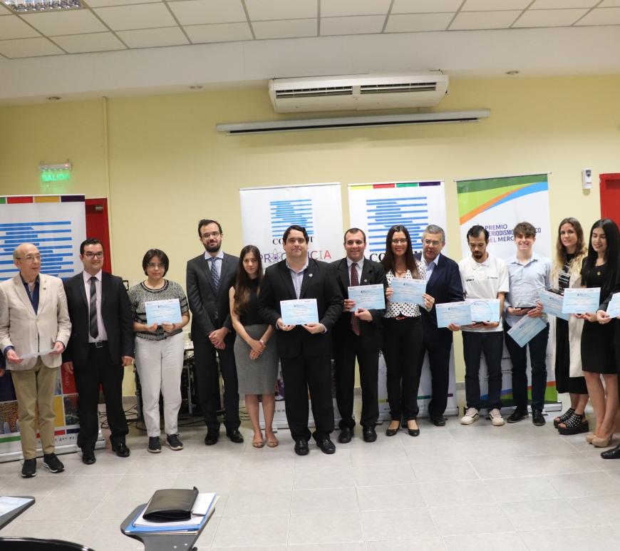 Cerimônia de premiação dos trabalhos vencedores do Prêmio de Jornalismo Científico do MERCOSUL